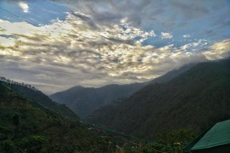 A view of the mountains from Ramgarh. Photographs by Manan Dhuldhoya
