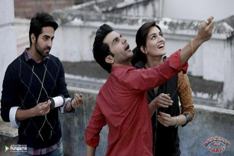 'Bareilly Ki Barfi' is a sweet love triangle starring Ayushmann Khurrana, Rajkummar Rao and Kriti Sanon.
