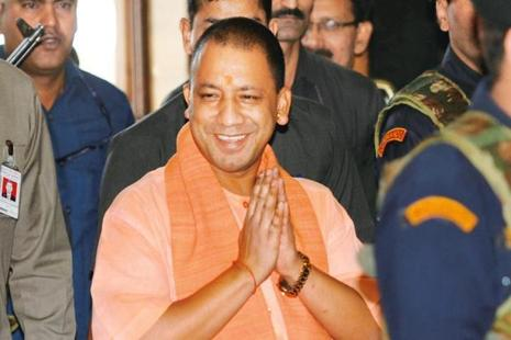File photo of Uttar Pradesh chief minister Yogi Adityanath. Photo: HT
