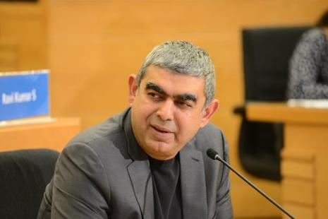Three years after Vishal Sikka took over as the first non-founder chief executive of Infosys, the former technology chief at SAP abruptly resigned on Friday. Photo: Hemant Mishra/Mint