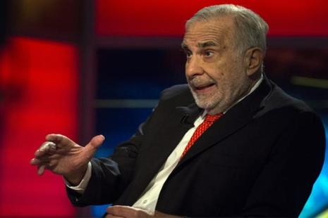 In a letter to Donald Trump posted Friday on Carl Icahn's website, he denied profiting from his advice-giving role. Photo: Reuters