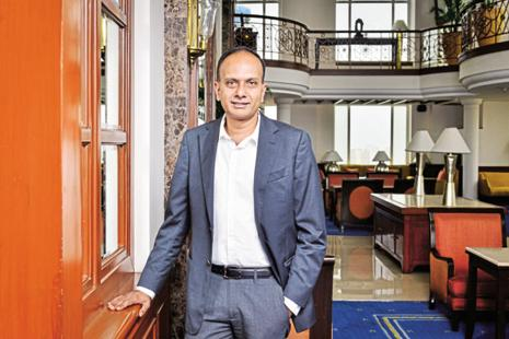Deepak Iyer, managing director of Mondelez India. The firm has doubled its reach to 40,000 villages now from a year ago. Photo: Aniruddha Chowdhury/Mint
