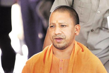 A file photo of UP CM Yogi Adityanath. Several PILs have been filed in the Allahabad high court by lawyers, social activists demanding a judicial probe and stern action against those responsible for the Gorakhpur tragedy. Photo: Hindustan Times