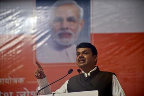 Maharashtra chief minister Devendra Fadnavis. Photo: HT