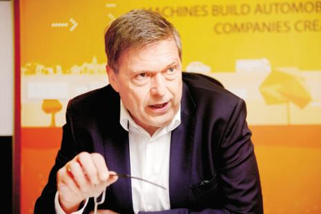 Guenter Butschek, chief executive officer and managing director of Tata Motors. Photo: Abhijit Bhatlekar/Mint