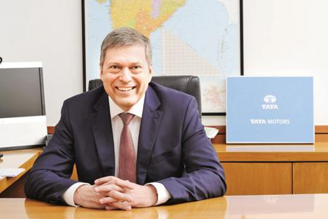 A file photo of Tata Motors CEO Guenter Butschek.