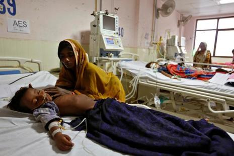 For India's federal government, the Gorakhpur tragedy comes at a particularly awkward time. Its election manifesto promised healthcare for all. But it seems to think that its finances are too straitened for the kind of expansion of public healthcare that Indians expect. Photo: Reuters
