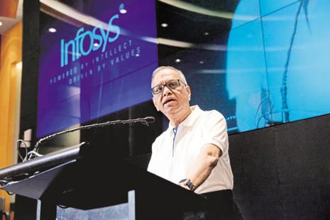 In the interest of the company he founded, and nurtured, Narayana Murthy must now reciprocate the civility of the board in patiently engaging with him over the past year. Photo: Aniruddha Chowdhury/Mint