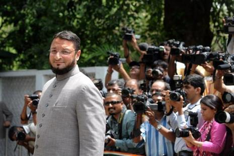 BJP spokesperson said the party central unit is making a plan to defeat Asaduddin Owaisi, the three-time Lok Sabha member from Hyderabad. Photo: AFP