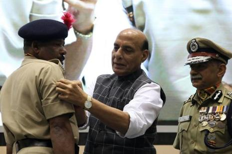 Rajnath Singh's statement came close on the heels of the Western Theatre Command of the PLA conducting military drills, a month after it had conducted a similar drill along the border in Tibet. Photo: PTI