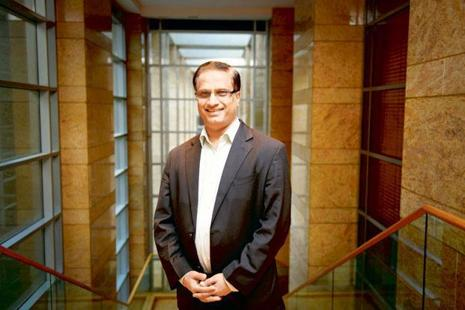 U.B. Pravin Rao, who was COO of Infosys, was appointed the Interim- Managing Director and Chief Executive Officer, following Sikka's resignation. Photo: Abhijit Bhatlekar/Mint