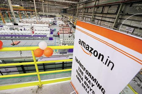 The latest rankings underscore the threat that Amazon India poses to Flipkart's leadership in the Indian e-commerce market,. Photo: Ramesh Pathania/Mint