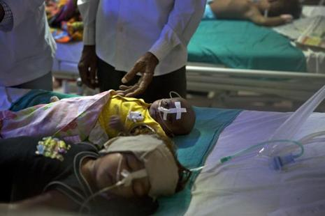 The Gorakhpur tragedy should be a wake-up call for the rest of Uttar Pradesh, where things are even more likely to go wrong. Photo: AP