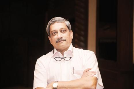 Manohar Parrikar was not an MLA when he was sworn in as Goa chief minister five months ago. Photo: Abhijit Bhatlekar/ Mint