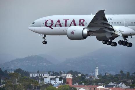 Qatar Airways currently operates to 13 cities in India from its Doha hub. Photo: AFP