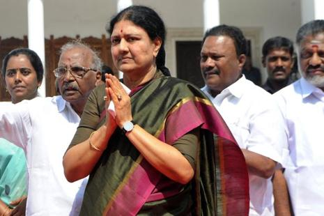 The apex court decision is a setback to Sasikala who is already mired in a controversy over alleged bribes to jail officials to avail facilities as well as the merger between AIADMK's two factions led by Tamil Nadu chief minister E. Palaniswami and former CM O. Panneerselvam. Photo: AFP