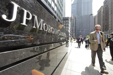 JPMorgan Chase and Co. and Morgan Stanley would benefit most from changes to post-crisis banking rules proposed by Donald Trump's administration, with pre-tax profit jumping 22%. Photo: Bloomberg