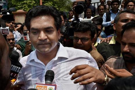 Satyender Jain, through advocate Gautam Dhamija, had claimed that Kapil Mishra had allegedly made defamatory statements against him in the media. Photo: PTI