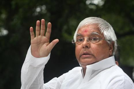 Lalu Prasad Yadav has rejected BJP's suggestion to postpone the 27 August rally in Patna. Photo: HT
