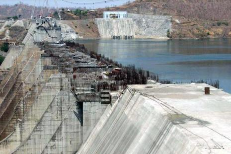 The new gates raise the height of Narmada Dam to 138.68 metres. Photo: HT