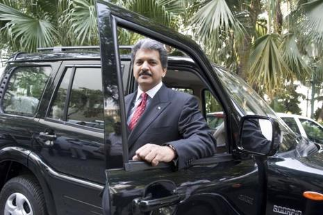 Anand Mahindra said there will be another boom in the next few years in the manufacturing sector. Photo: