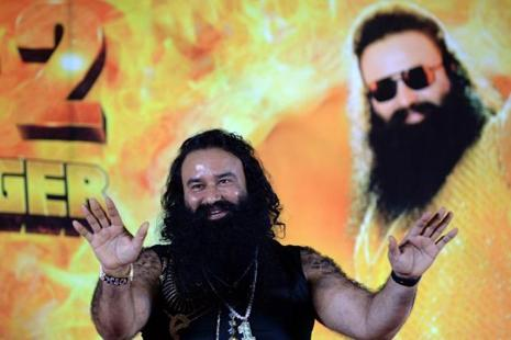 Dera Sacha Sauda chief Gurmeet Ram Rahim Singh has appealed to his followers to maintain peace ahead of the CBI verdict. Photo: AFP