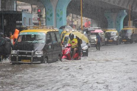 On 29 August, the metropolis received more than 300 mm rainfall, crippling the transport services and throwing normal life out of gear. Photo: PTI