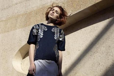 The Solar Shirt produces 1 watt of power, which can be used to charge a cellphone. Photo: Pauline Van Dongen