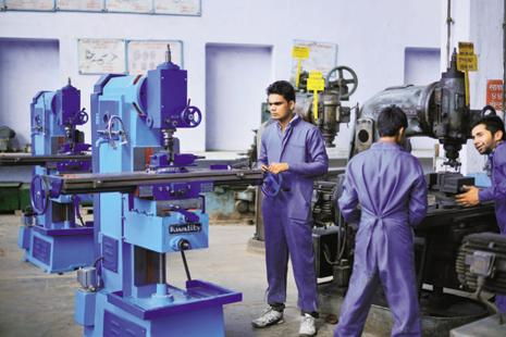 For India to reap the dividends of its demographic potential, it has to equip its workforce with the necessary skills to contribute to the economy, the report said. Photo: Mint