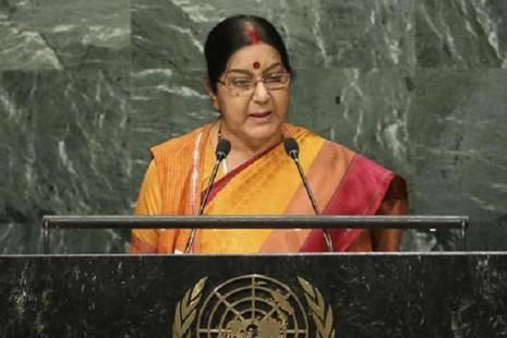 External affairs minister Sushma Swaraj remarks came amid uncertainty over the US role in the deal after President Donald Trump in June announced that America was withdrawing from the Paris deal, arguing that it gives undue advantage to countries like India and China. Photo: AP
