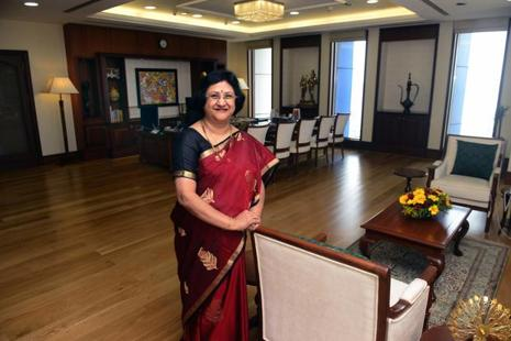 State Bank of India chairman Arundhati Bhattacharya.  Photo: Mint