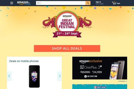 During the lead-up to the annual holiday, Amazon and Flipkart have played a cloak-and-dagger game, each waiting for the other to announce sale dates.