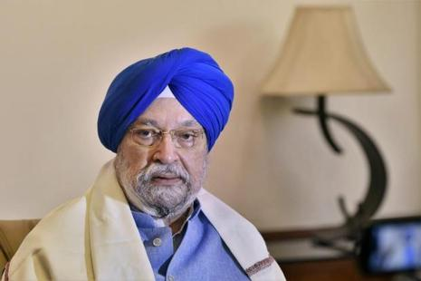 Hardeep Singh, minister of housing and urban affairs. The new PPP policy for private investments in affordable housing is in line with the government's Housing for All target by 2022. Photo: PTI