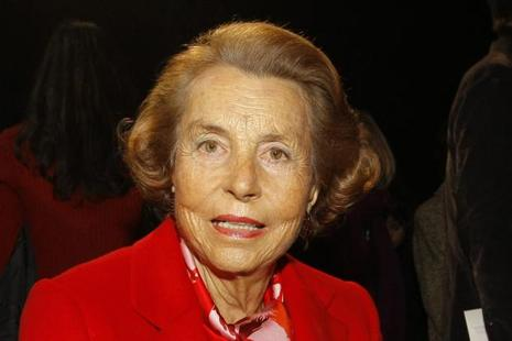 L'Oreal heiress Liliane Bettencourt's net worth was $42.5 billion, making her the richest woman in the world. Photo: AP