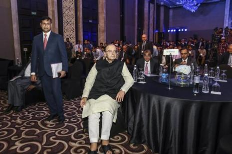 Arun Jaitley said the demonetisation exercise was a conscious effort to alter the saving and spending pattern of the Indian society, which was largely cash dependent. Photo: Bloomberg