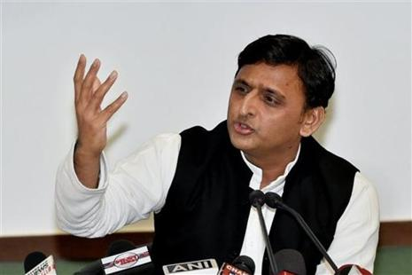 A file photo of Samajwadi Party president Akhilesh Yadav. Photo: PTI