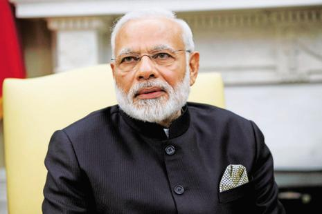 "Prime Minister Narendra Modi is expected to the opposition on and highlight his dispensation's ""successes"" in boosting transparency and curbing black money, party sources said. Photo: AP"