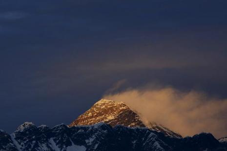 Nepal has never measured Mount Everest on its own and uses its snow height of 8,848 metres that was measured by the survey of India in 1954. Photo: Reuters