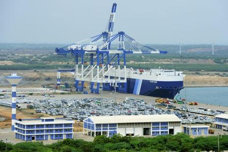 China's influence over Hambantota port has sparked widespread anger in Sri Lanka. Photo: AFP
