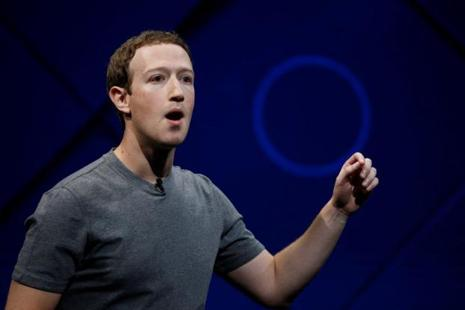 The Facebook stock ended the week at $170.54, valuing Mark Zuckerberg's 75 million shares at $12.8 billion. Photo: Reuters