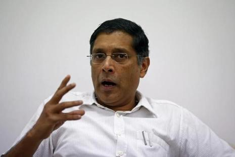 Arvind Subramanian said there was a 'big' appreciation of the rupee between January and April which had adversely impacted Indian exports. Photo: Reuters