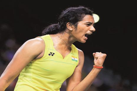 P.V. Sindhu was awarded India's fourth highest civilian honour, the Padma Shri, in 2015. Photo: Reuters