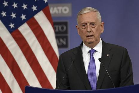 James Mattis is the highest ranking US administration representative to come visiting after US President Donald Trump took office in January. Photo: AFP