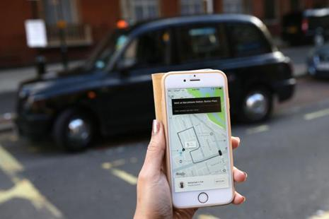 Uber was banned in London on concerns that it continued to employ a driver accused of sexual assault. Photo: AFP