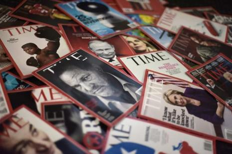 The deal for Time Magazine gave Meredith a larger audience to compete for advertisers that are consolidating their spending with bigger media companies, as well as Facebook and Google. Photo: AFP