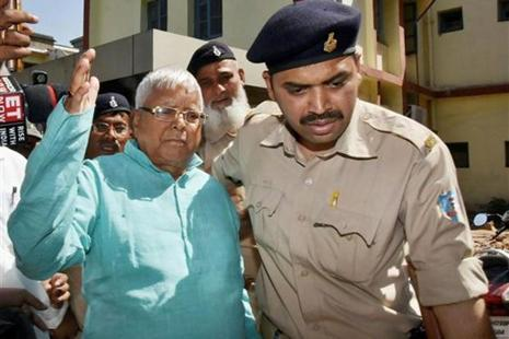 RJD supremo Lalu Prasad has been serving prison term in Birsa Munda Jail in Ranchi since 23 December last year after being convicted in the second fodder scam case pertaining to illegal withdrawal of money from the Deogarh treasury. Photo: PTI