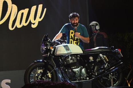 Royal Enfield's Siddhartha Lal is unperturbed by the incoming competition in its stomping ground of 350-500cc motorcycles in India. Photo: AFP