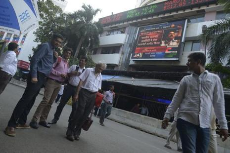 Stock markets and the rupee fell sharply in early trade before recovering later. Photo: Mint