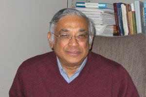 Probability factor: Mathematics and science professor at New York's Courant Institute of Mathematical Sciences, Srinivasa Varadhan has just been named this year's winner of the Abel Prize.
