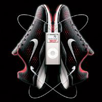 Winning combination: Last year, Nike and Apple together launched an advertising campaign for the Nike+iPod Sport Kit, a device that includes a sneaker-based sensor that combines with another sensor at